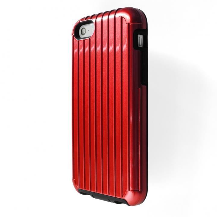 PRECISION HYB Case レッド iPhone SE/5s/5c/5