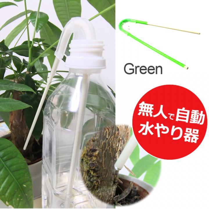 自動水やり サイフォン式 水の番人 グリーン_0