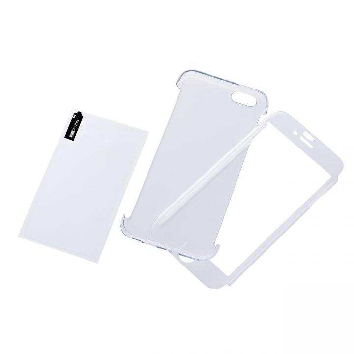 ハードコーティングケースと強化ガラス プレミアムセット クリア iPhone 6ケース