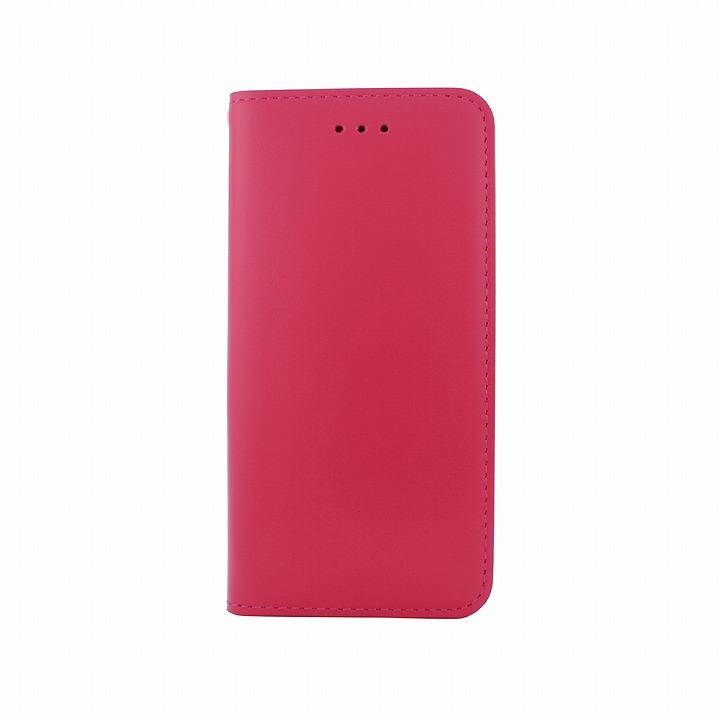 【iPhone6ケース】手帳型ケース DESIGNSKIN Wetherby ベーシック ピンク iPhone 6ケース_0