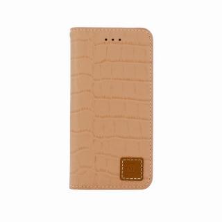 手帳型ケース DESIGNSKIN Wetherby クロコダイル型押しインディピンク iPhone 6ケース
