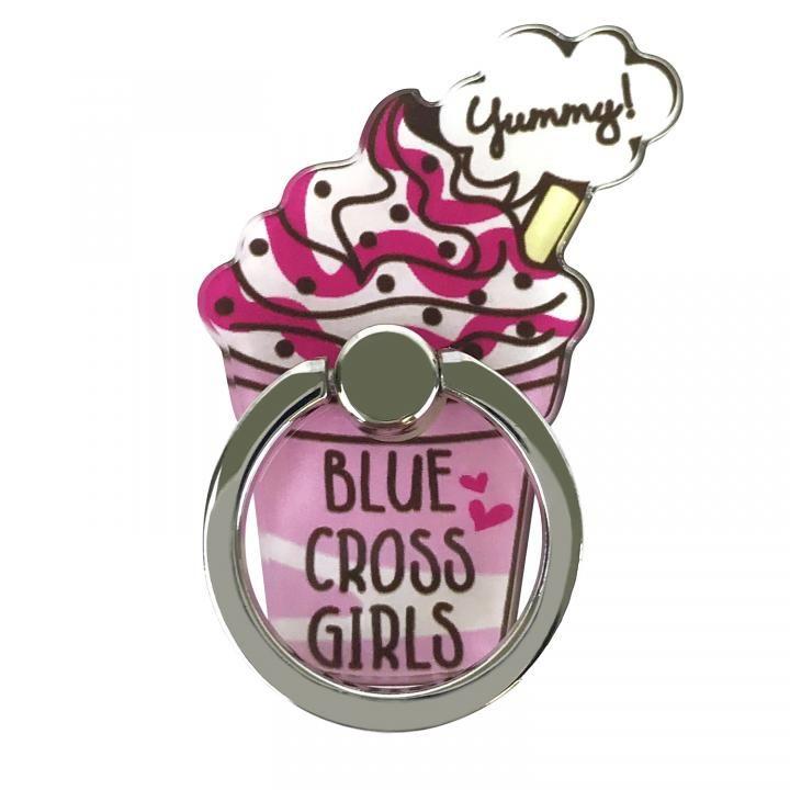 BLUE CROSS Girls スマホリング 落下防止 フラッペダイカット_0