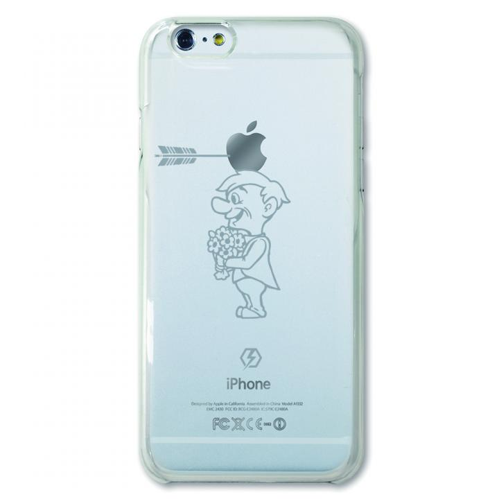 【iPhone6ケース】CollaBorn デザインケース Smile unwillingly iPhone 6ケース_0