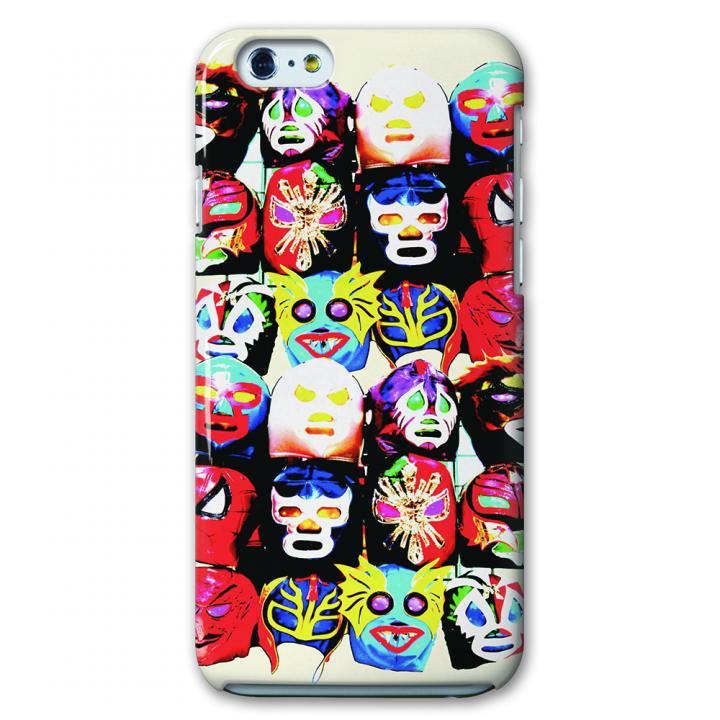 【iPhone6ケース】CollaBorn デザインケース レスリングマスク iPhone 6ケース_0
