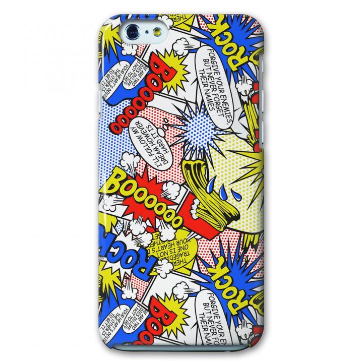 【iPhone6ケース】CollaBorn デザインケース マンガ調叫び声 iPhone 6ケース_0