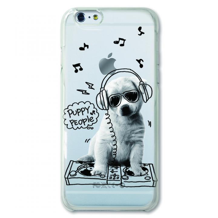 【iPhone6ケース】CollaBorn デザインケース Puppy people iPhone 6ケース_0