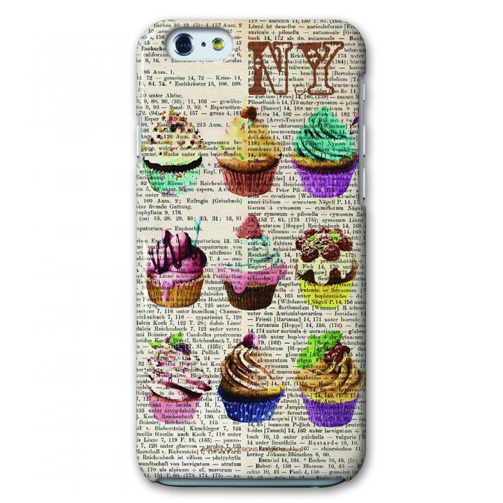 CollaBorn デザインケース ニューヨークカップケーキ iPhone 6ケース