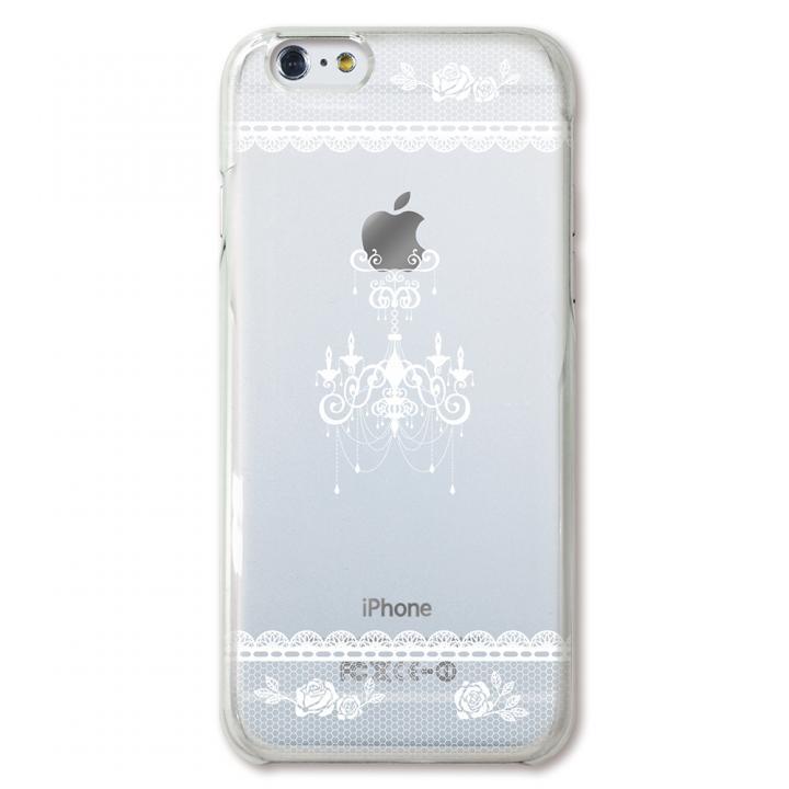 【iPhone6ケース】CollaBorn デザインケース シャンデリア白 iPhone 6ケース_0