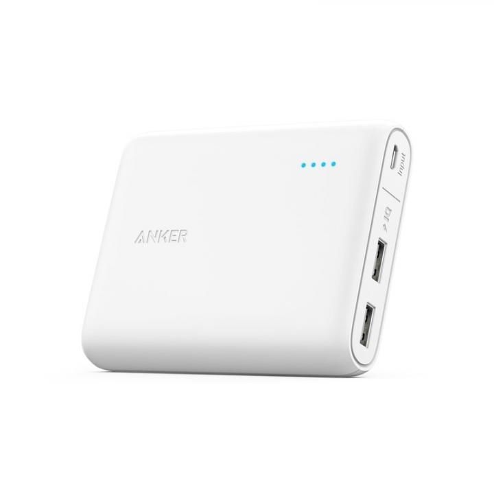 Anker PowerCore 13000 モバイルバッテリー ホワイト【8月下旬】_0