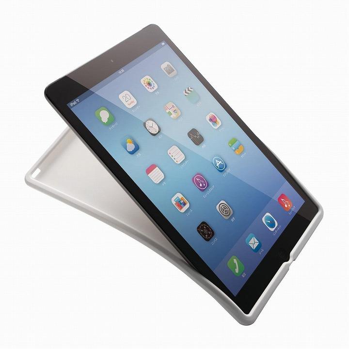 シリコンソフトケース ホワイト iPad Air 2ケース_0