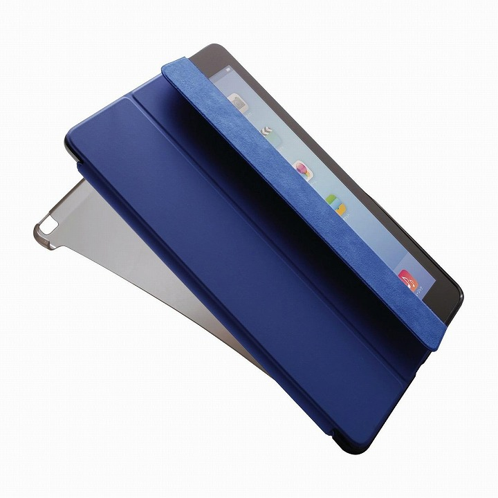 スマートカバー対応ソフトケース クリアブラック iPad Air 2ケース_0