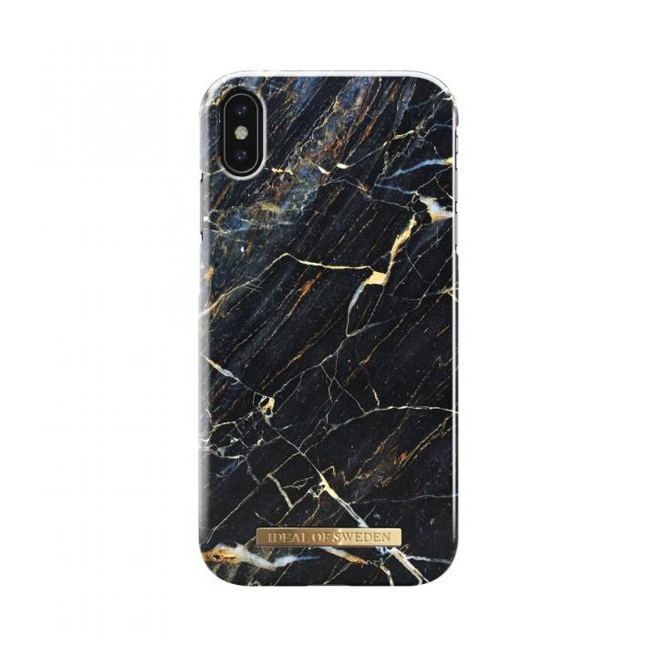 【iPhone XS Maxケース】iDeal of Sweden Fashion 背面ケース Port Laurent Marble iPhone XS Max_0