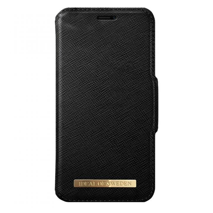 【iPhone XS/Xケース】iDeal of Sweden Fashion 手帳型ケース Black iPhone XS/X_0