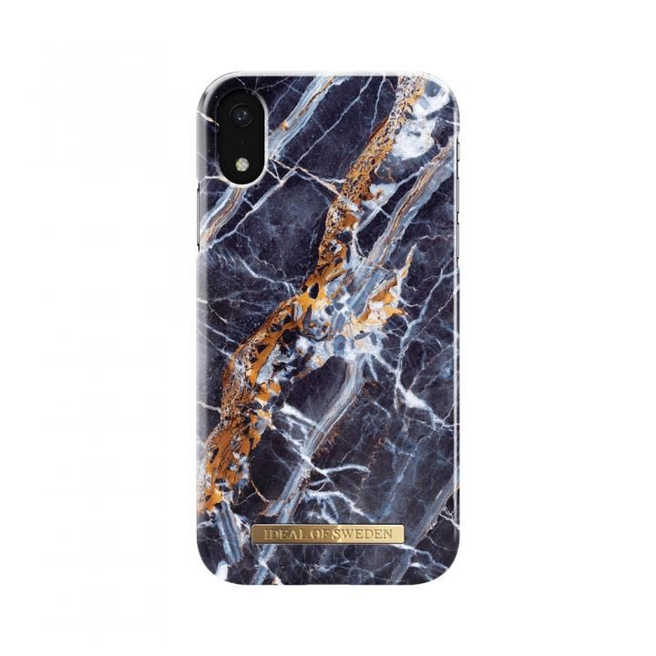 iPhone XR ケース iDeal of Sweden Fashion 背面ケース Midnight Blue Marble iPhone XR_0