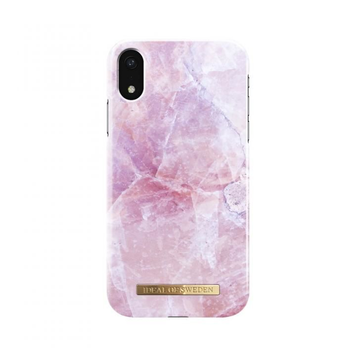 【iPhone XRケース】iDeal of Sweden Fashion 背面ケース Pilion Pink Marble iPhone XR_0