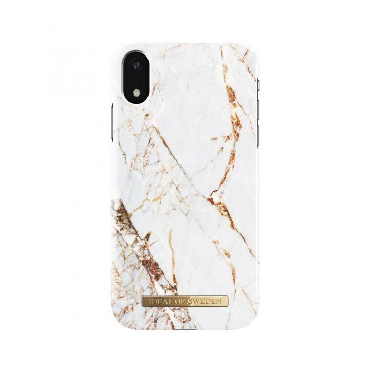 iPhone XR ケース iDeal of Sweden Fashion 背面ケース Carrara Gold iPhone XR_0