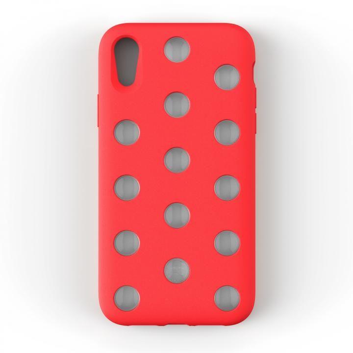 iPhone XR ケース AndMesh Layer Case 背面ケース ブライトレッド iPhone XR_0