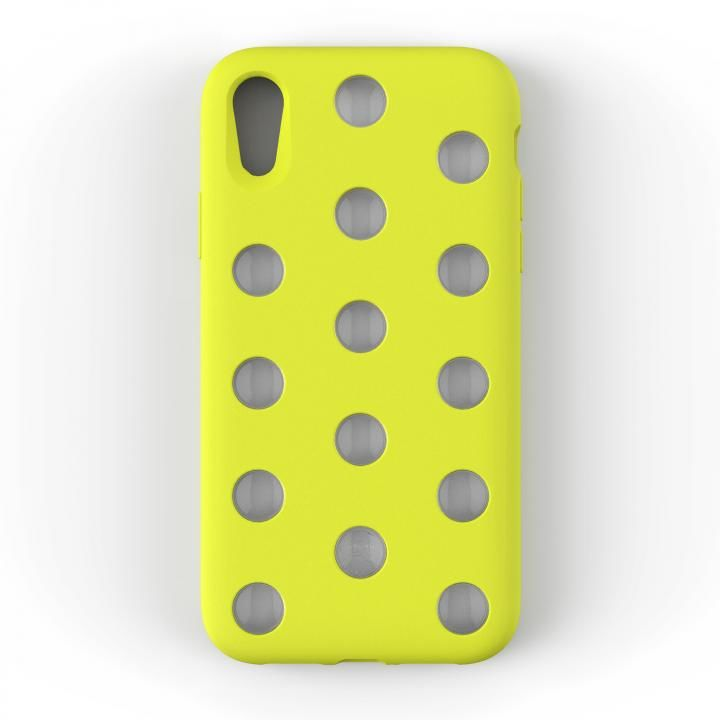 iPhone XR ケース AndMesh Layer Case 背面ケース ライムイエロー iPhone XR_0