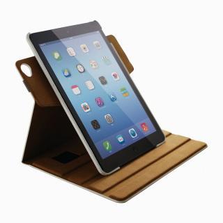 360度回転 ソフトレザーホワイト iPad Air 2ケース