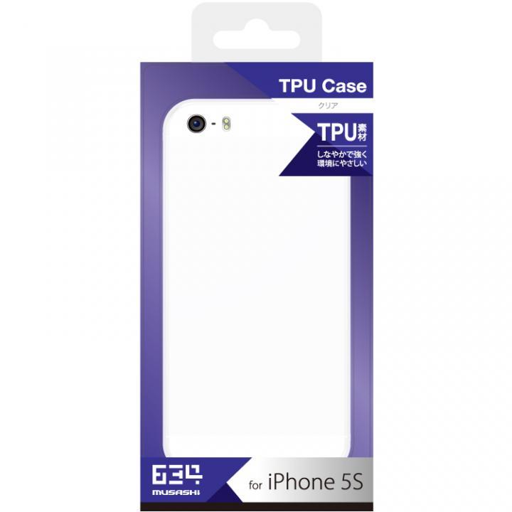 【iPhone SE/5s/5ケース】iPhone SE/5s用 TPUケース(クリア)_0