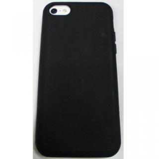 iPhone5c用 シリコンケース(ブラック)_2