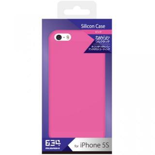 iPhone SE/5s用 シリコンケース(ピンク)
