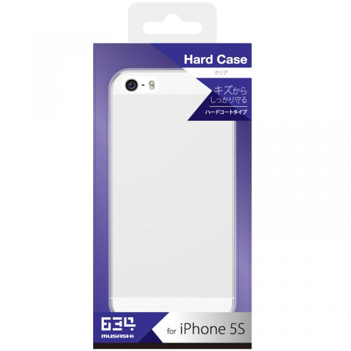 【iPhone SE/5s/5ケース】iPhone SE/5s用 ハードケース(クリア)_0