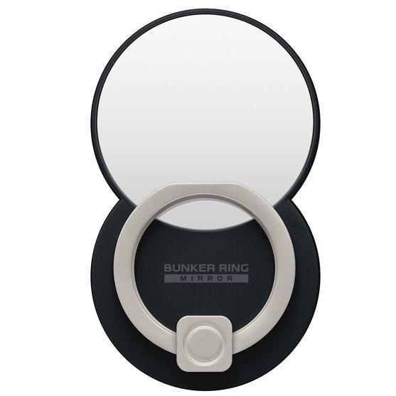 BUNKER RING Mirror ミラー スマホリング 落下防止 Multi Holder Pac ブラック_0