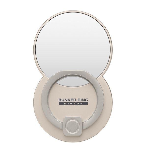 BUNKER RING Mirror ミラー スマホリング 落下防止 Multi Holder Pac ゴールド_0