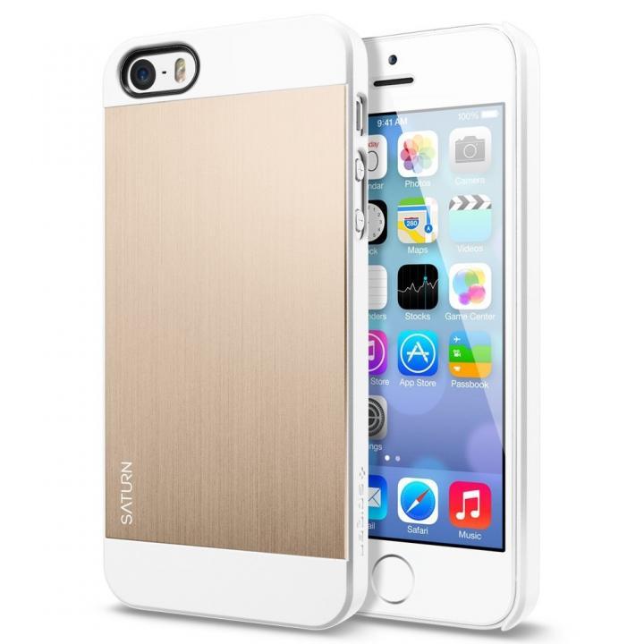 iPhone SE/5s/5 ケース iPhone SE/5s/5 ケース サターン[シャンパン・ゴールド]_0
