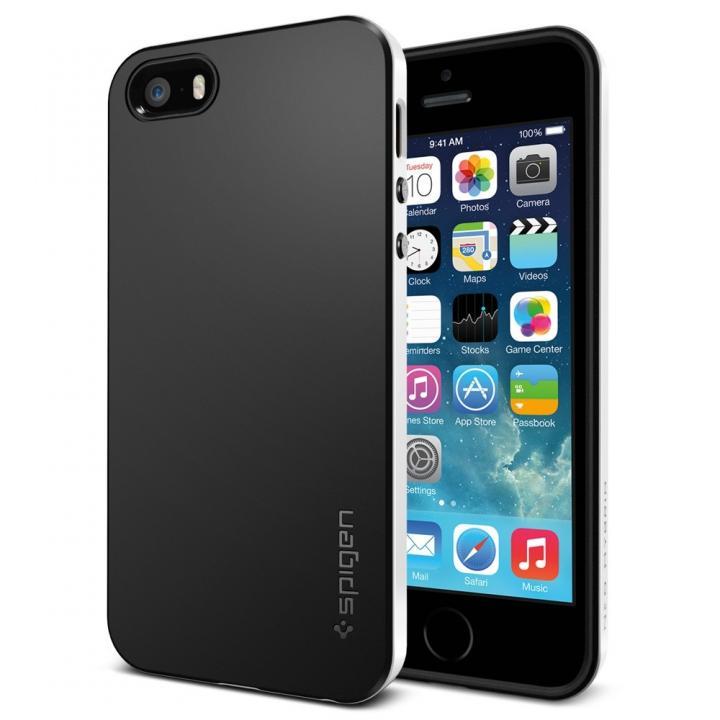 iPhone SE/5s/5 ケース ネオ・ハイブリッド[インフィニティ・ホワイト]