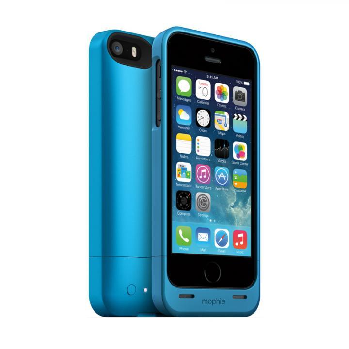【iPhone SE/5s/5ケース】mophie juice pack helium  iPhone SE/5s/5 ブルー_0