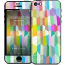 GELASKINS iPhone SE/5s/5 スキンシール 【Trapezoid Love】