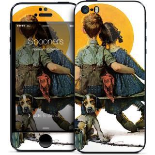 GELASKINS iPhone SE/5s/5 スキンシール 【Spooners】