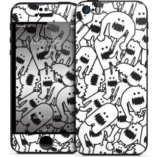 GELASKINS iPhone SE/5s/5 スキンシール 【Monster Collage】