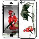 GELASKINS iPhone SE/5s/5 スキンシール 【Red Riding Hood】