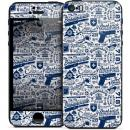 GELASKINS iPhone SE/5s/5 スキンシール 【Crooklyn】