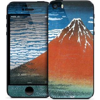 iPhone SE/5s/5 ケース GELASKINS iPhone SE/5s/5 スキンシール 【Fuji】