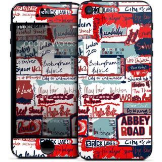 GELASKINS iPhone SE/5s/5 スキンシール 【London Words】