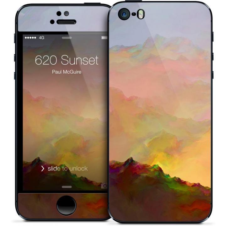 iPhone SE/5s/5 ケース GELASKINS iPhone SE/5s/5 スキンシール 【620 Sunset】_0