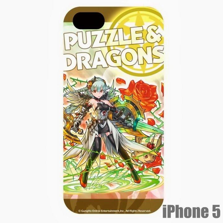 【iPhone SE/5s/5】パズドラ総選挙ケース 薔薇戦姫・グレイスヴァルキリー