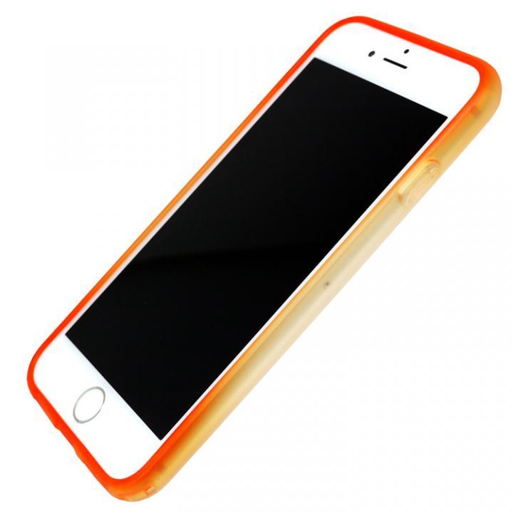 【iPhone7ケース】染 ソフトバンパー 蜜柑 iPhone 7_0
