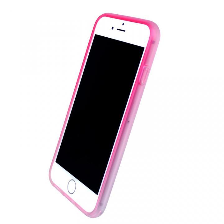 iPhone7 ケース 染 ソフトバンパー 桃 iPhone 7_0
