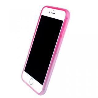 染 ソフトバンパー 桃 iPhone 7