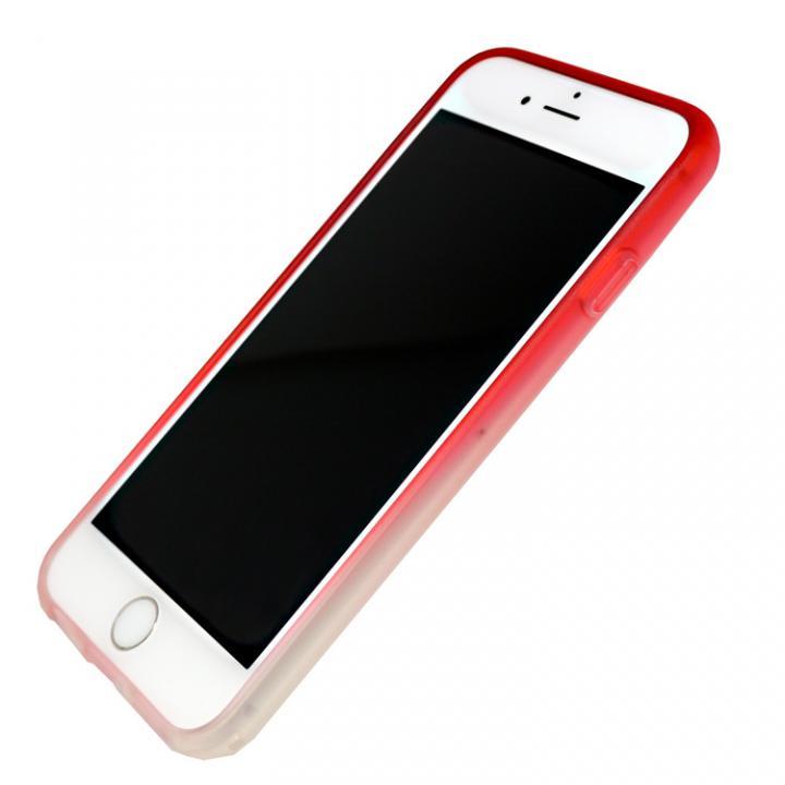 iPhone7 ケース 染 ソフトバンパー 赤 iPhone 7_0
