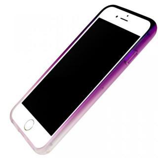 iPhone7 ケース 染 ソフトバンパー 紫 iPhone 7