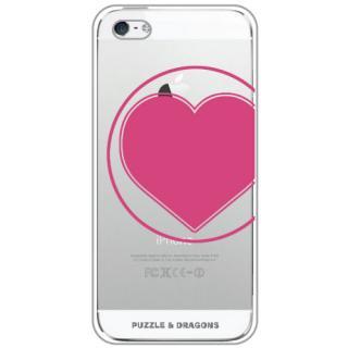パズドラ iPhone SE/5s/5 HEART EMBLEM グリーティングカード入り