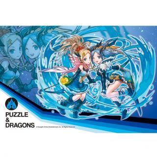 【300ピース】 パズドラ ジグソーパズル 「蒼穹の双星神・イズン&イズーナ」
