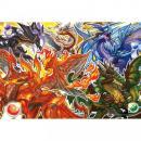 【300ピース】 パズドラ ジグソーパズル 「アルティメットドラゴンズ」