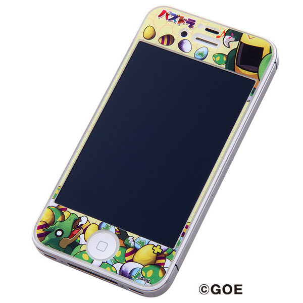パズドラ iPhone 4/4s用ドレスアップフィルム/ガチャドラ_0